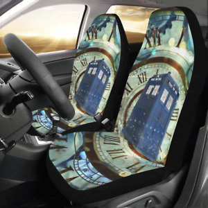 Custom Doctor Who Seat Covers Personalize Car Seat Covers Protector Set Of 2