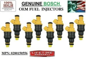 Set8 Fuel Injectors 99 03 Ford F 250 Super Duty 5 4l V8 Oem Bosch 0280150556