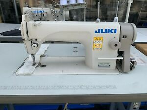 Juki Ddl 8700 Industrial Sewing Machine Compete With Table And Motor 1 needle
