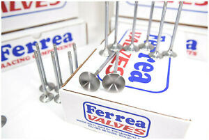 Ferrea Competition Plus Intake Valves 2 25 11 32 5 3 250 Chevy Bbc F1212p