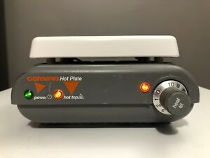 Corning Pc 400 Hot Plate 5 X 7 Analog Heater