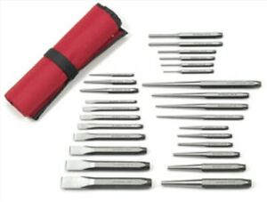 27 Pc Punch And Chisel Set Gearwrench 82306 Kdt