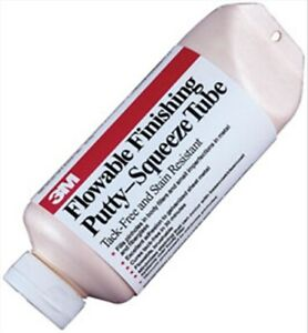 Flowable Finishing Putty 05824 24 0 Oz Squeeze Tube 3m Company 5824 3m