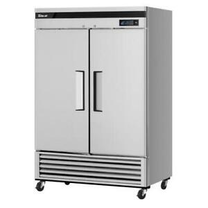 Turbo Air Tsf 49sd n Super Deluxe 2 door Reach in Freezer