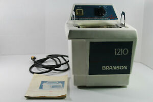 Bransonic Branson 1210r mth Ultrasonic Cleaner W Instructions Lid And Basket