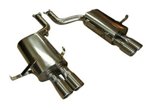 Top Speed Pro 1 Axle Back Exhaust System Fits 2000 2003 Bmw M5 E39 V8 5 0l