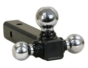 Buyers Products Chrome Towing Balls Solid Shank Tri Ball Hitch 1 7 8 2 And 2 5
