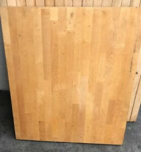 25 X30 X1 5 Solid Butcher Block Counter Table Top Indoor Use