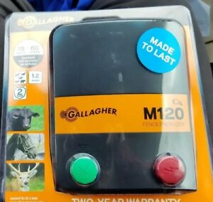 New Gallagher North America M120 110v Fence Energizer 1 2 Joules G330434