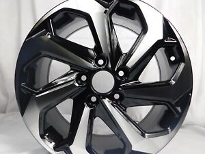 17x7 5 5x114 3 Honda Wheels Rims Fits Honda Set Of 4 Machine Black New