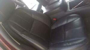 2009 Chevy Suburban Passenger Rh Black Leather Electric Bucket Seat A95