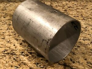 316l Stainless Steel Round Stock Tube 5 9 16 Od X 5 1 4 Id X 7 3 16 Long