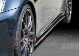 2006 13 Lexus Is250 350 Isf Real Ait Carbon Fiber Side Skirt