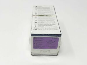 Covidien Polysorb Sl 692g Braided Absorbable Sutures 4 0 C 14 75cm Pack Of 12