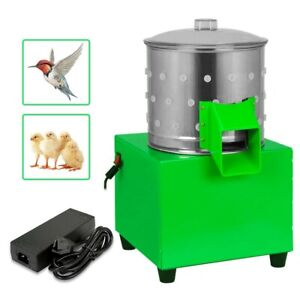 Feather Plucking Machine Small Chicken Dove Poultry Plucker Birds Depilator 80w