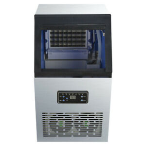 230w 110v Built in Commercial Ice Maker 110lbs 50kg Auto Ice Cube Machine