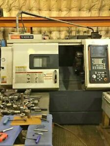 2005 Mazak Nexus Qt250 Full Set Of Tooling Included Low Hours Tight Tolera