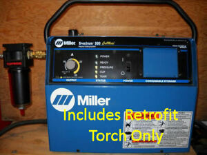 Replacement Plasma Cutter Torch To Fix Repair Miller Spectrum 300 Ice 25 Torch