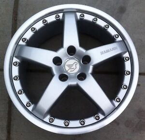 Hamann Pg2 2pc 8 5 X 19 Et 15 5 120 Silver Genuine New Made By Oz One Wheel Only