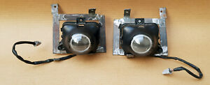Toyota Corolla Ae100 Ae101 Fx Gt Bumper Fog Lights Pair Oem Custome Brackets