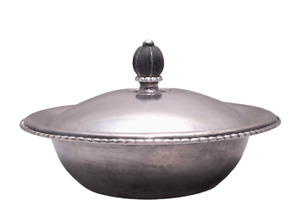 Georg Jensen Sterling Covered Dish 290a