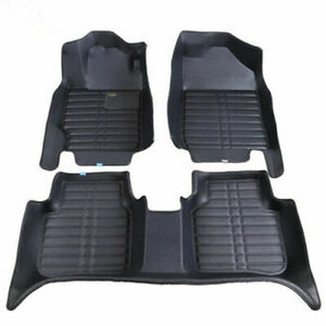 For Ford Explorer Floor Mats Front Rear Carpet Auto Mat All Weather Waterproof B