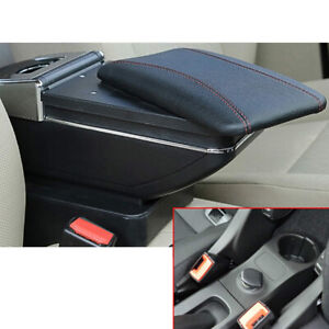 For Benz Smart Car Center Console Armrest Storage Box With Cup Holder Ashtray