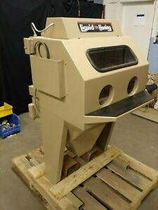 Vapor Blast Wetblast Machine Model 2820 Sit N Hone Rebuilt