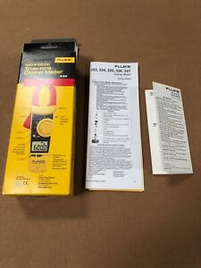 Fluke 336 True Rms Clamp Meter Screen Protector Soft Fluke Case With Leads