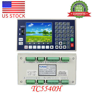 4 Axis Cnc Controller Spindle Control Panel Mpg Stand Alone Usb Stick G Code