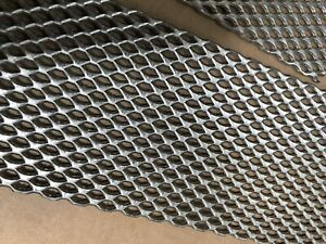 2 Titanium Mesh For Anodizing Or Plating Durable 078 Thick With Mounting Tab