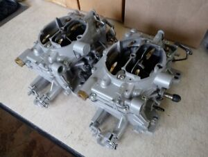 Dual Quad 4 X 4 Afb Carters 500 Cfm Rare With Live Video Testing