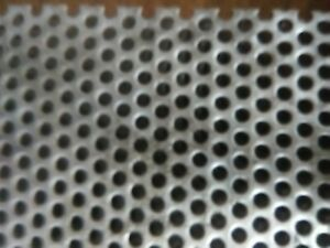 1 8 Holes 1 8 Thick 304 Stainless Steel Perforated Sheet 12in X12 In