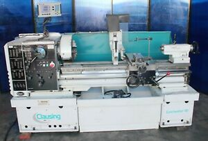 Clausing Colchester Gap Bed Engine Lathe 15 23 X 50 Metal Turning Machine Dro