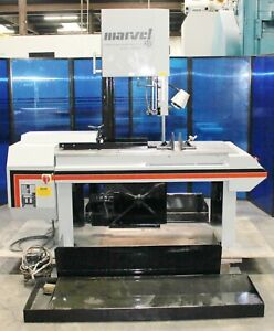 18 Throat Marvel 8 Mark Ii Vertical Metal Cutting Bandsaw W Tilt Mitre 2 Hp