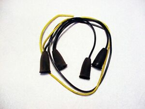 Volvo 122 122s Horn Wires Rubber Boots W Wire Connectors Oem 14