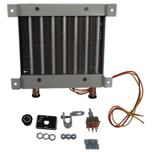 H 603012 12 Volt Wall Mount Cab Heater Made To Be Universal