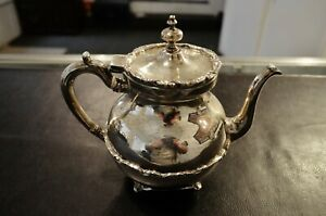 Mexico 925 Sterling Silver 7 Coffee Tea Pot No Monograms