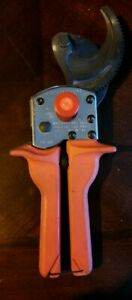 New Burndy Rcc750hd Ratchet Cable Cutter Great Price