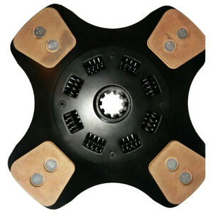 841019 Hd4 New Clutch Disc Made To Fit Timberjack Skidder Models 300 225a 230a