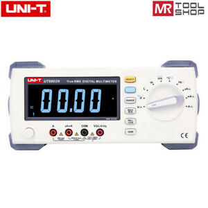 Uni t Ut8803n Bench Top Digital Multimeter Auto T rms Dmm Temp Tes
