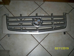 Cadillac Escalade Oem Front Grill Used 2002 Pearl White