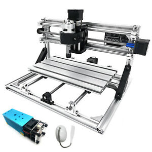 3 Axis Cnc Router Kit 3018 2500mw Milling Injection Molding Material Machine