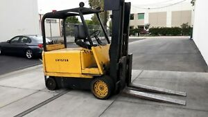 12 000 Lb Hyster Electric Forklift
