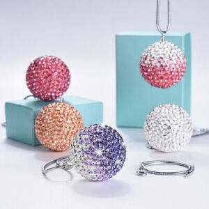 Shiny Diamond Ball Hanging Ornaments Interior Decoration For Home Or Car