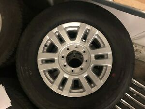 Set Of 2019 Ford F250 Take Off Wheels And Take Off Tires 18