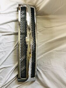Chevy Silverado Chrome Back Replacement Grille 2007 2008 2009 2010