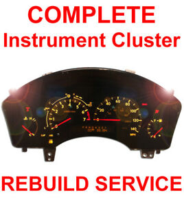Speedometer Instrument Gauge Cluster Rebuild Repair For 2004 2007 Infiniti Qx56