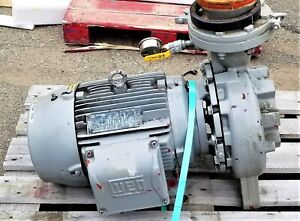 Armstrong 5x4x10 4280 520gpm 69ft Head 15hp 175psi 1800rpm Rebuilt grey 2