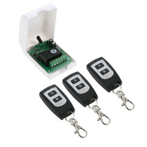 Waterproof Transmitter Toggle Switch Rf Relay 3 Transmitter 1 Receiver